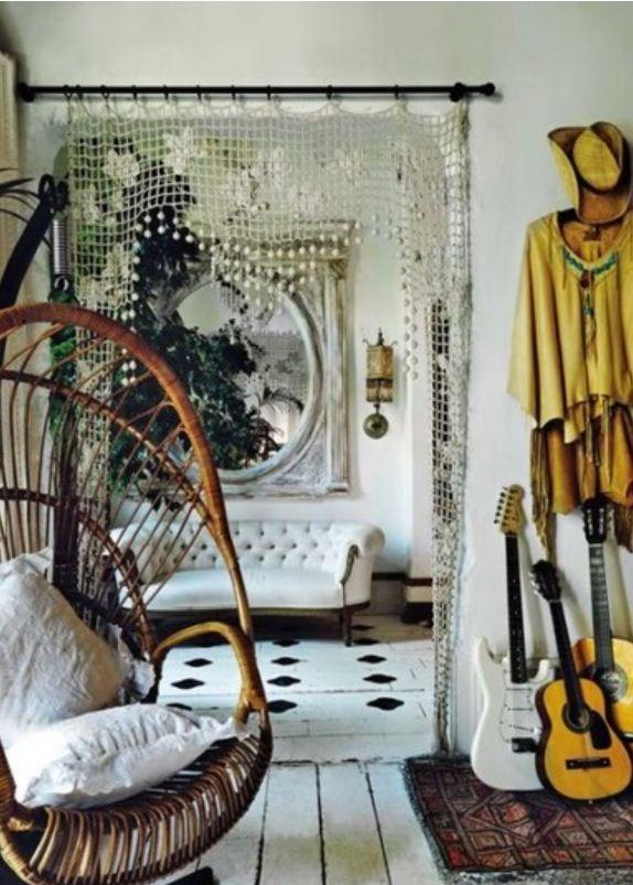 Multi Color String Curtain Fringe Panel Room Divider: 17 Best Images About Beaded Room Dividers On Pinterest