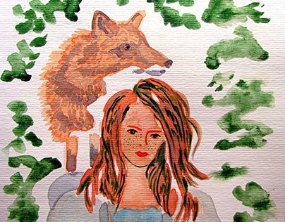 """Check out new work on my @Behance portfolio: """"Wild friendship"""" http://be.net/gallery/41641169/Wild-friendship"""