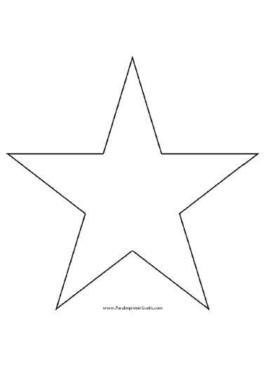 Molde de Estrella para Imprimir muchos moldes gratis para quienes buscan hacer parches o apliques de tela o lo que sea