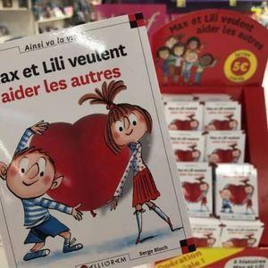 Inspirations, vocation des livres Max et Lili, l'auteure Dominique de Saint Mars s'ouvre à auchanetmoi et évoque le partenariat avec l'association SOS Village d'Enfant.
