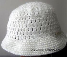 Marifetane- İğne Oyası ve Açıklamalı modeller: Tığ İşi Şapka ve Yapılısı Crochet hat pattern