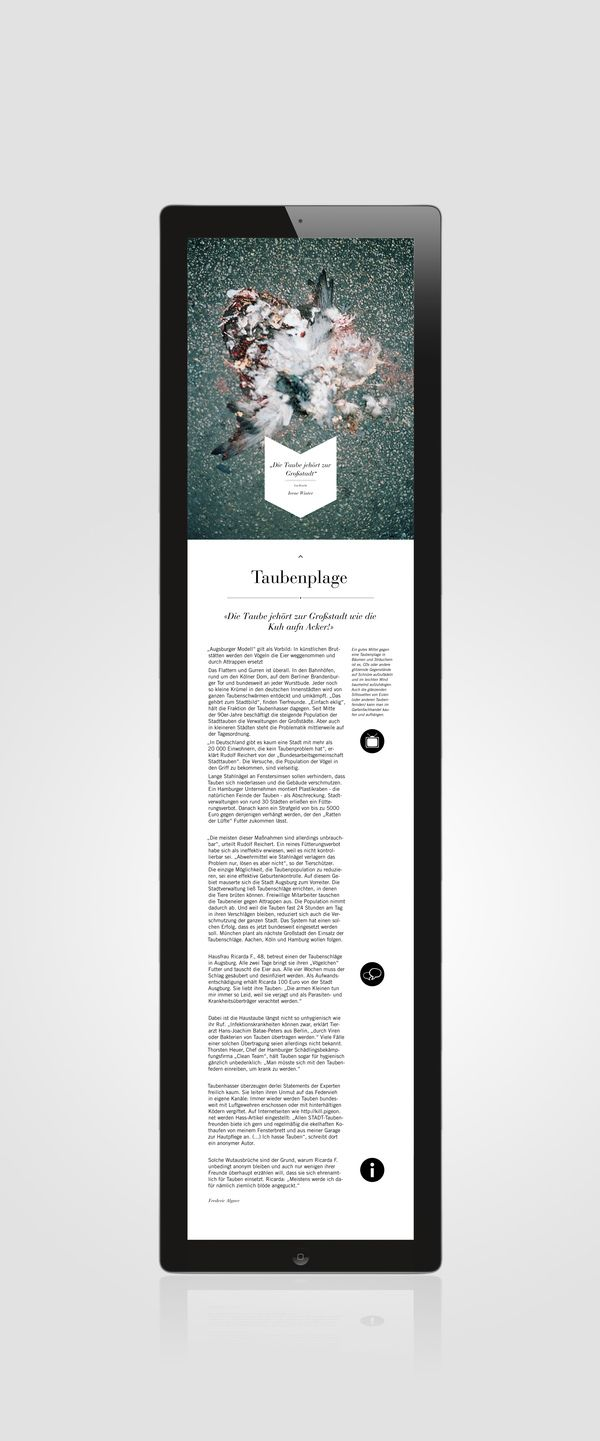 Berliner Schnauze iPad Magazine on Behance