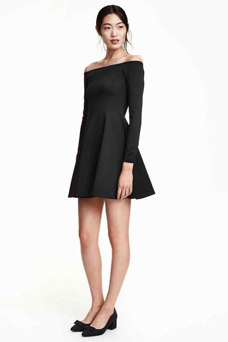 Molde de vestido corto manga larga