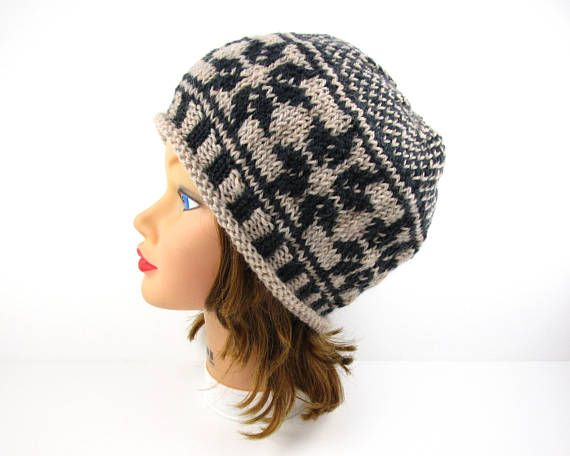 8001adc875e Fair Isle Beanie Hat
