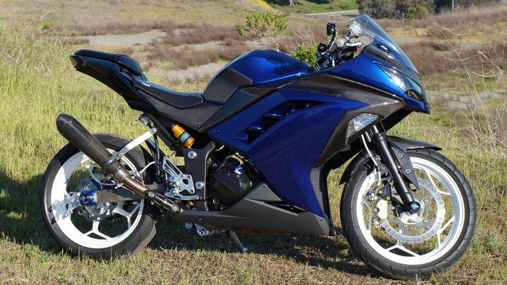 blue ninja 300