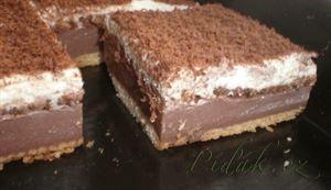 Zobrazit detail - Recept - BE - BE řezy s čokoládou - nepečené, jednoduché a…