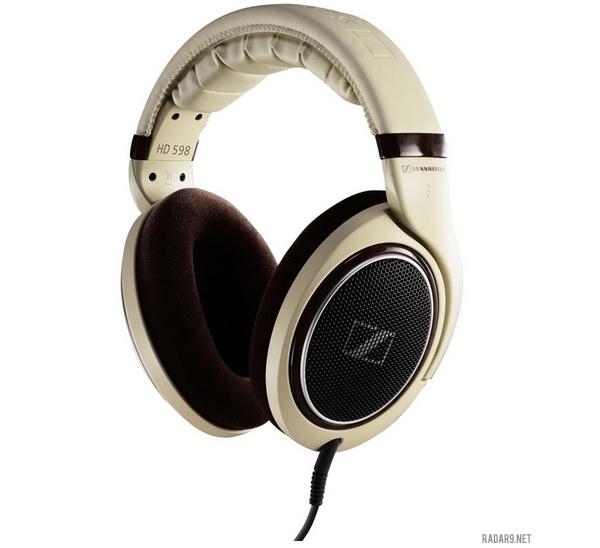 Sennheiser HD598 Headphones  - we just love these color!