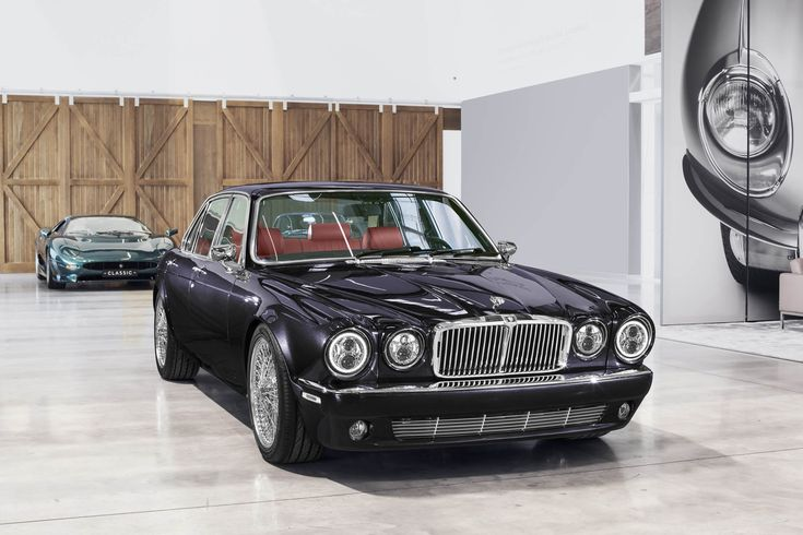 Jaguar Classic's XJ6 Restomod Is Rock & Roll On Wire Wheels