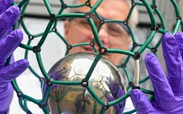 Platinum, gold, silver, and diamonds are going to seem dirt cheap when you hear how much this new man-made carbon-based material costs – an eye-watering £100 million ($150 million) per gram! Created last year by British scientists in an Oxford University lab, 'endohedral fullerene' is a cage of carbon atoms containing nitrogen atoms. Carbon atoms exist in many forms like diamond and graphene, distinguished by the number of atoms they contain. This fullerene, with 60 carbon atoms, is also…