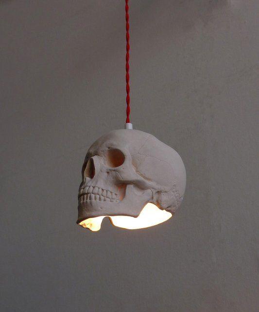Fancy - Skull Pendant Light