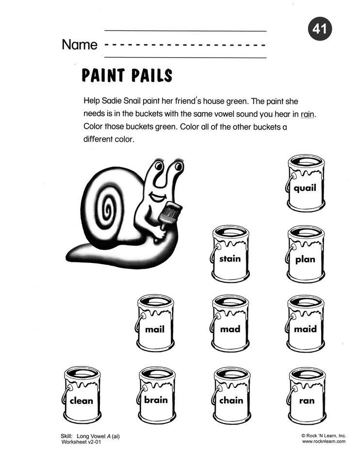 Best Phonics Worksheets Images On   Free Phonics