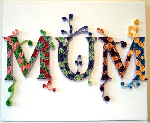 Book Cover Paper Quilling ~ Best quilled monograms images on pinterest quilling