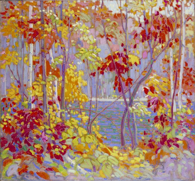 The Pool ~ Tom Thomson, 1915, Canadian Group of Seven artists