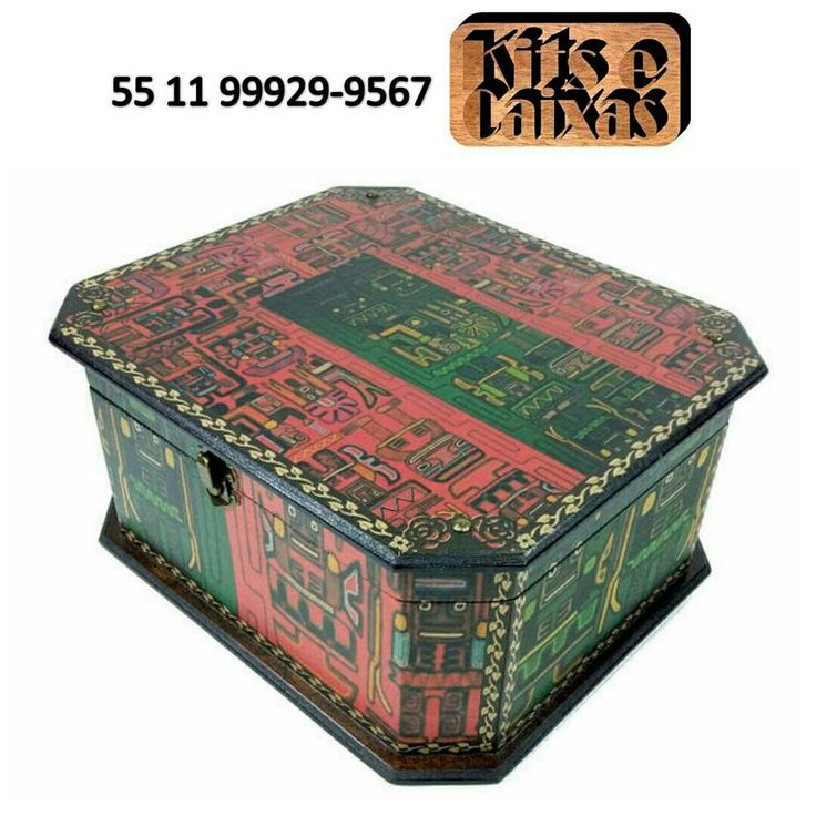 #caixamdf #caixa #instacraft #estojo #presente #woodenbox #handmade #feitoamao #handicraft #caixadecorativa #decoracao #amocaixas #instacraft #arteemmadeira #portamaquiagem #maquiagem #makeup #instamake #amomaquiagem #maquiador#esmalte #esmaltes #portaesmaltes #manicure #amoesmalte #unhas #nails #inca #asteca