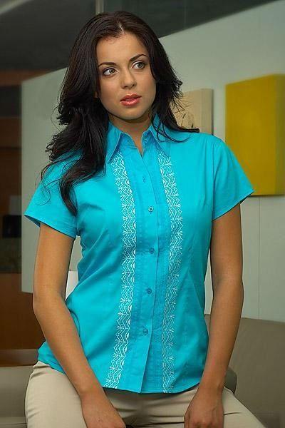 camisa guayabera-Blusas Mujer-Identificación del producto:456638600-spanish.alibaba.com