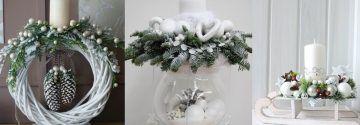 """""""I'm dreaming of a white christmas""""… 8 tolle skandinavisch inspirierte weiße Dekoideen!"""