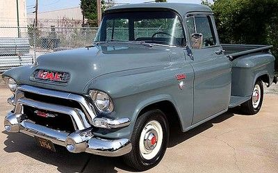 1956 GMC MODEL 100 STEPSIDE HALF TON PICKUP                                                                                                                                                                                 More