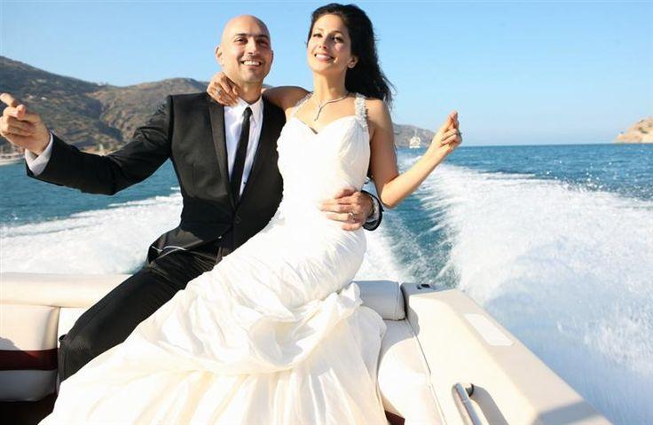 Pure bliss : Greek weddings + yachts