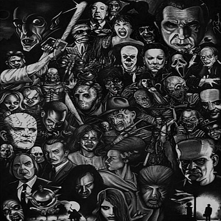 144 best images about Scary movie classic characters on Pinterest ...