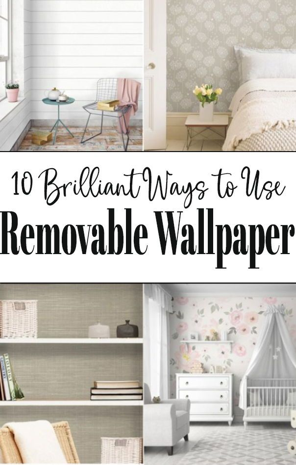 Removable Wallpaper Ideas Removable Wallpaper Home Decor Home Projects