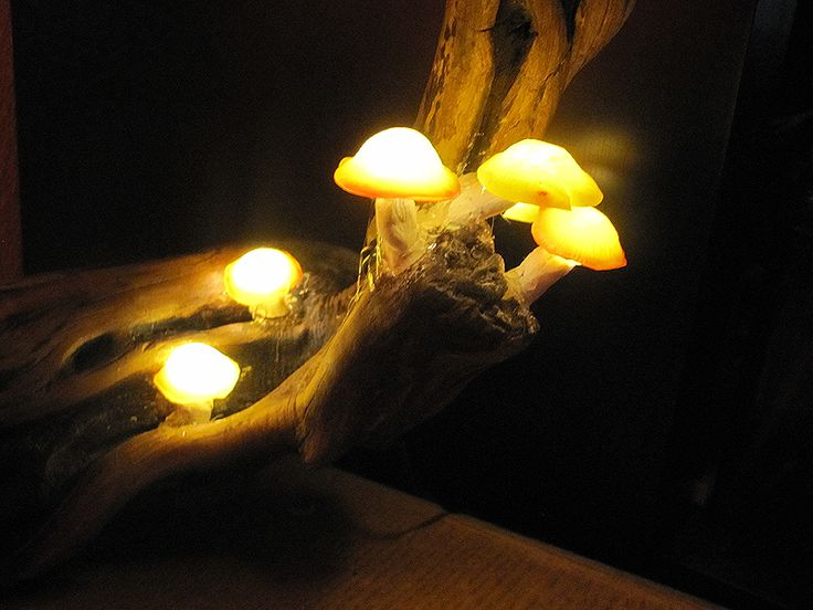 Luminous Mushroom Night Light  DIY Haunt Prop  Mushroom