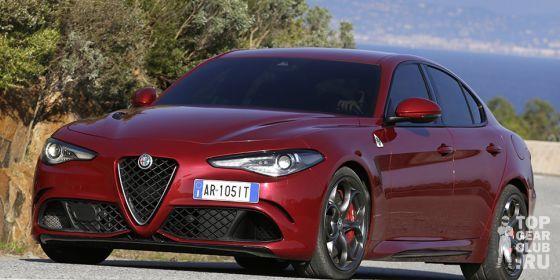 Джереми Кларксон о Alfa Romeo Giulia Quadrifoglio Verde 2016 года…