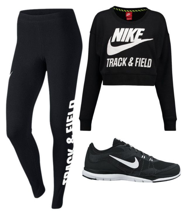 """Nike"" by kyrambk on Polyvore"