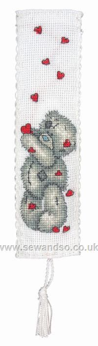 All My Heart Bookmark Cross Stitch Kit online at sewandso.co.uk