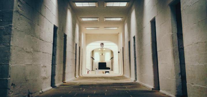 Lunatic Asylum at Port Arthur Historical Site. Eerie yet enchanting.