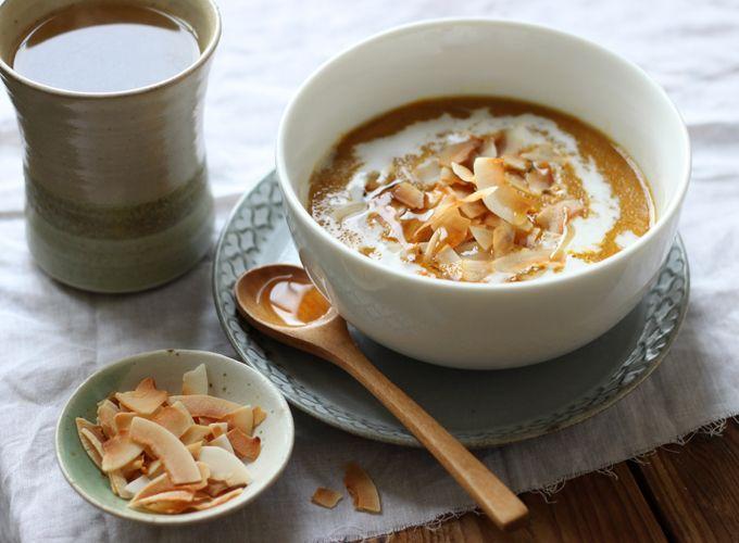 Pumpkin Pie Amaranth PorridgeTasty Recipe, Pies Amaranth, Desserts Treats, Amaranth Porridge, Breakfast, Roots, Healthy Food, Pumpkin Pies, Gotta Eating