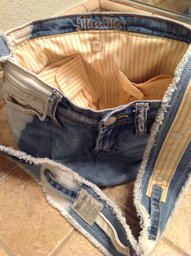 Upcycled Recycled Repurposed Miss Me Denim Jeans by HookinUp                                                                                                                                                     More