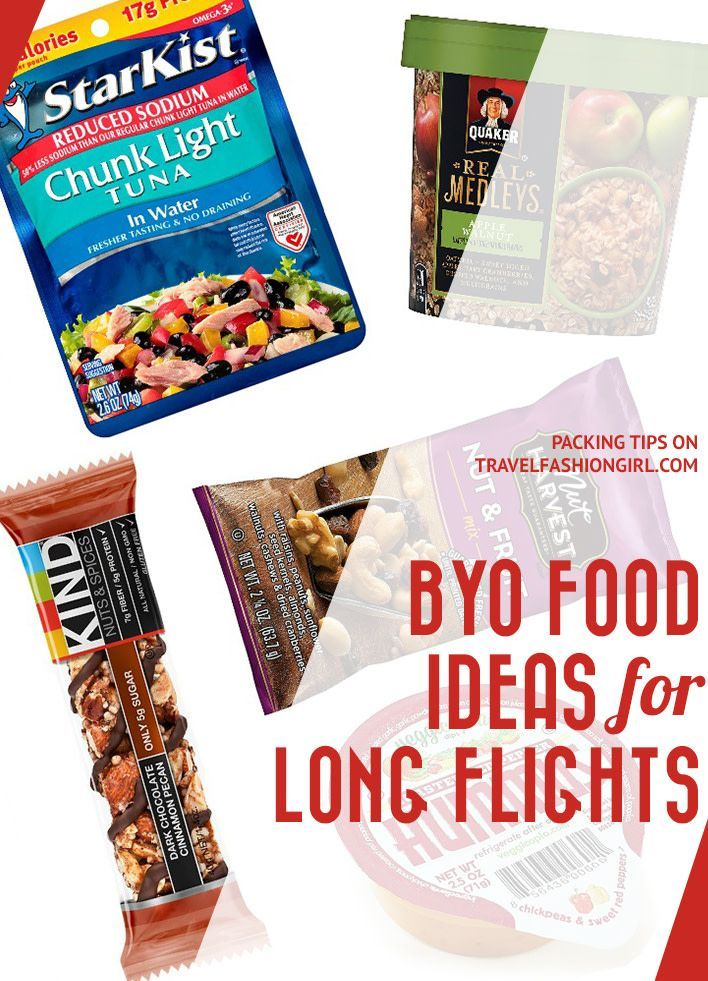 These Are The Best Airplane Snacks To Pack For Long Flights Airplane Food Airplane Snacks Travel Food