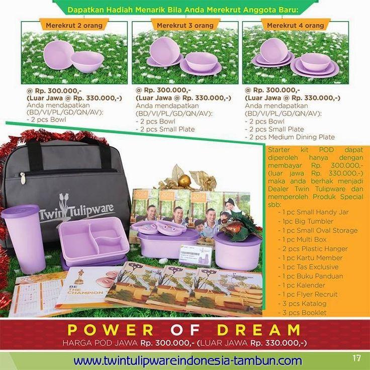 Paket Member POD Tulipware 2014
