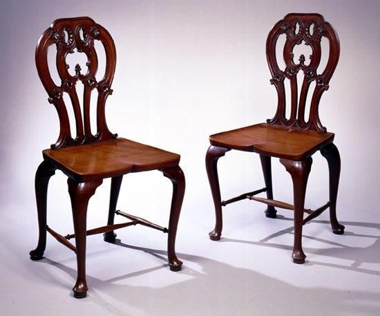 A beautiful pair of antique hall chairs, from 2016 San Francisco Fall Art &  Antiques - 68 Best Seating Images On Pinterest San Francisco, Chairs And