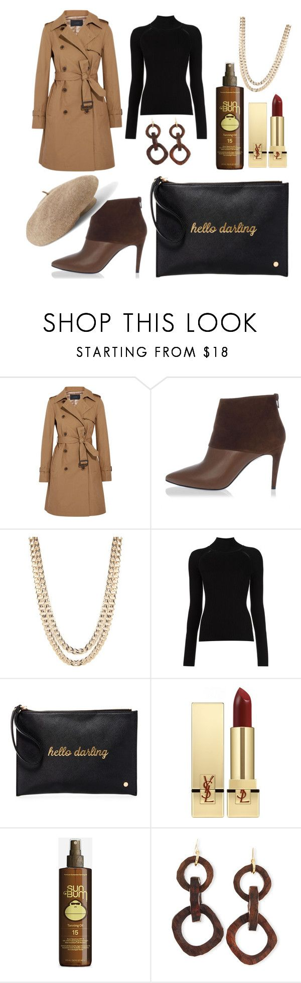 """""""STYLE IT"""" by fhawn ❤ liked on Polyvore featuring J.Crew, Pierre Hardy, BaubleBar, Misha Nonoo, Deux Lux, Yves Saint Laurent, Sun Bum, NEST Jewelry and Venus"""