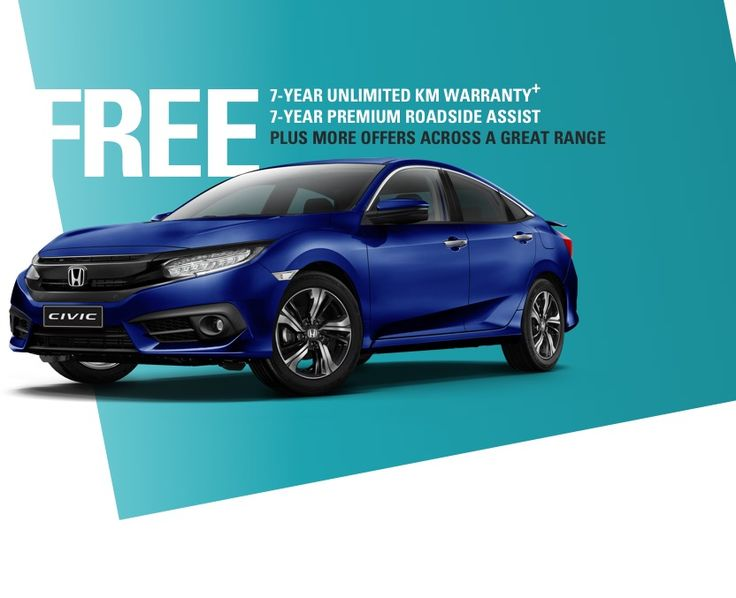 Seven Year, Unlimited Kilometre Warranty & Seven Years Roadside Assistance on Most New Honda Vehicles Purchased by 31st December - http://sleekdeals.co.nz/deals/2017/11/seven-year,-unlimited-kilometre-warranty-amp-seven-years-roadside-assistance-on-most-new-honda-vehicles-purchased-by-31st-december.aspx