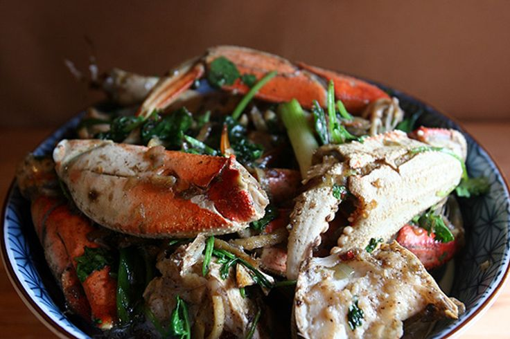 Recipe: Vietnamese Ginger Crab