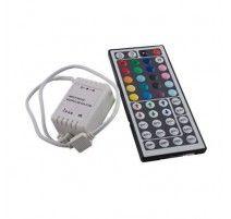CONTROLADOR CON MANDO PARA TIRA DE LED RGB 12V / 72W