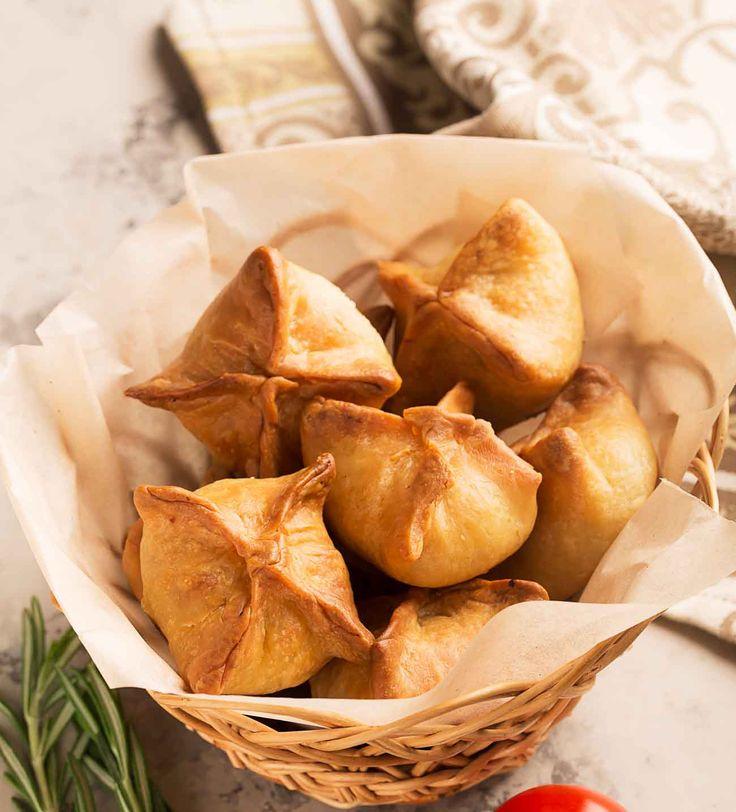 Vegetarian Chinese Samosa Recipe