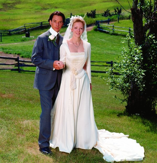 Gus and Felicity, wedded at last (Road to Avonlea)