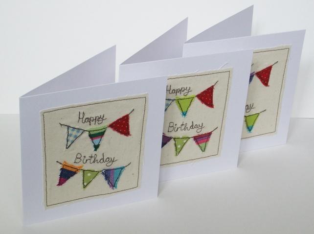 Birthday Bunting Birthday Card
