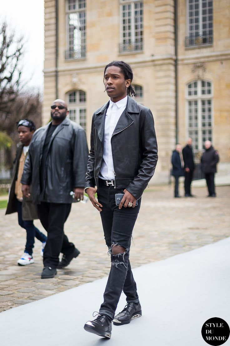 ASAP Rocky Street Style Street Fashion by STYLEDUMONDE Street Style Fashion Blog