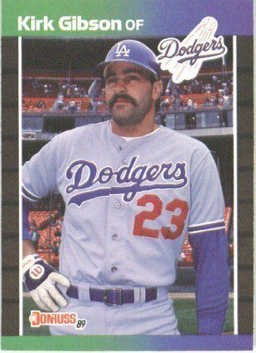 1989 Donruss Kirk Gibson Los Angeles Dodgers Baseball Card