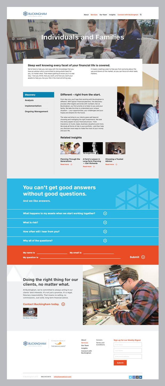 28 best images about financial advisor web design on Pinterest