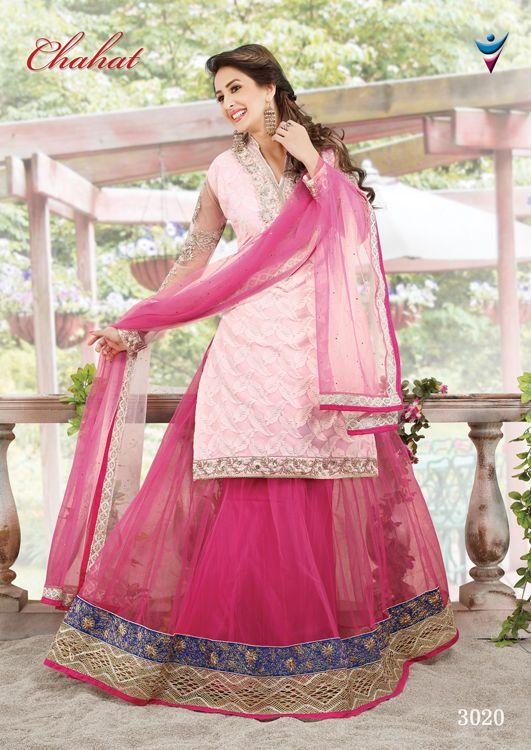 Ethnic wear Pakistani Lehenga Indian Bridal Choli Bollywood Traditional Wedding #TanishiFashion