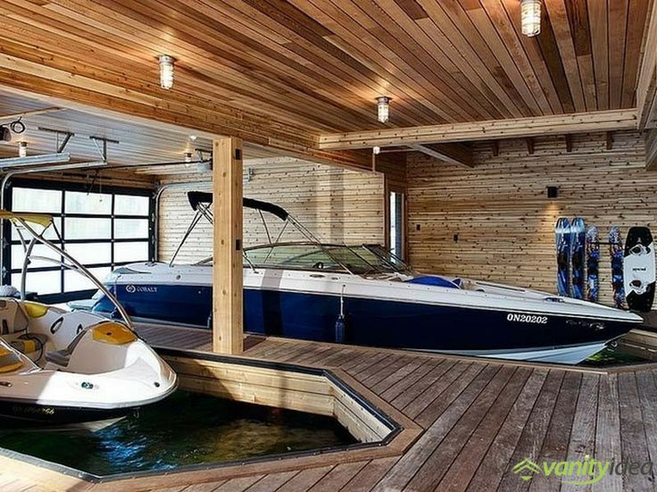 two-stall boathouse design