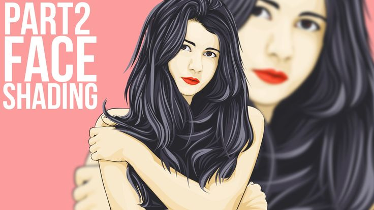2/5 Vector Portraits Photoshop Tutorial Face Shading  Part 2. Adobe Photoshop CC 2015.5 Vector Portraits Tutorial. This video show you the process on how i create vector vexel (PRO). i'am not explain in deep, if you begginer or intermediate you can check my other video in my channel.  Support us by click on Like and Share Buttons, see you in the next tutorials!