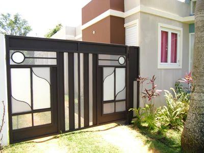9 best images about portones on pinterest spanish style - Puertas de metal para casas ...