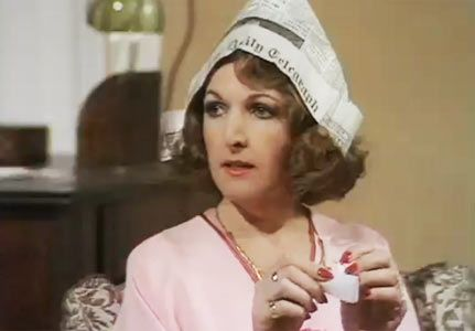 Marvellous Penelope Keith as Margot. 'Thank you very much, Jerry'. The Good Life  British tele is so witty.
