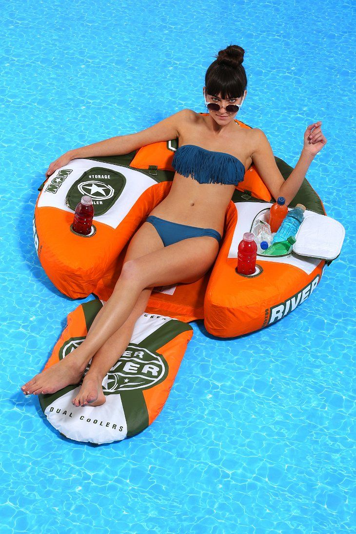 River Rover Lounge Chair Pool Float